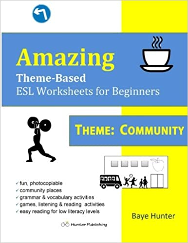 Amazon.com: Amazing Theme-Based ESL Worksheets for Beginners THEME ...