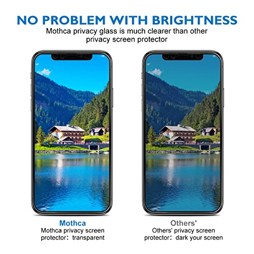 separation shoes 12b43 1732f Mothca Screen Protector Privacy Compatible with iPhone - Import It All