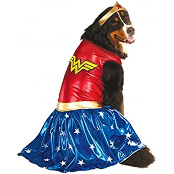 Rubieu0027s Big Dog Wonder Woman Dog Costume  sc 1 st  Amazon.com & Amazon.com : Rubieu0027s Big Dog Wonder Woman Dog Costume : Pet Supplies