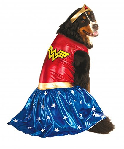 Rubie's Big Dog Wonder Woman Dog (Wonder Pets Dog Costume)