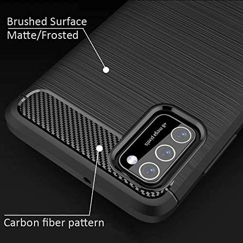 TeKKno/® Slim Carbon Fibre Protective Shockproof Case LCD Screen Cover for Samsung Galaxy A41