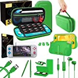 Orzly Switch Lite Accessories Bundle - Case