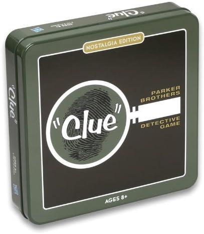 Clue Nostalgia Tin Set