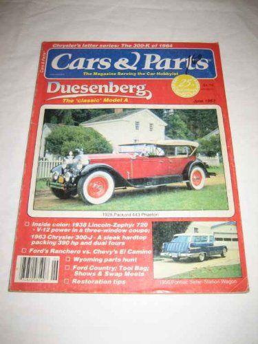 Cars & Parts V. 25 #5 June 1982 1928 Packard 443 Phaeton for sale  Delivered anywhere in USA