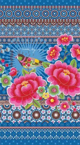 Pip Studio Toalla de Playa Chinoise Azul 100 x 180
