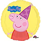 Qualatex Peppa Pig 18 in. Happy Birthday Balloon