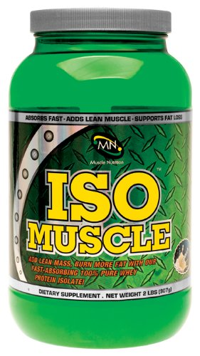 Muscle Nutrition Iso Muscle, Vanille, 2 Pound
