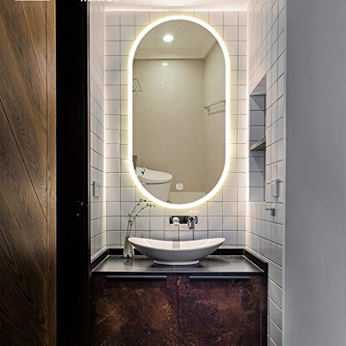 Bathroom Mirror with Lights, 500 X 1000 mm Modern Illuminated Bathroom Mirror -