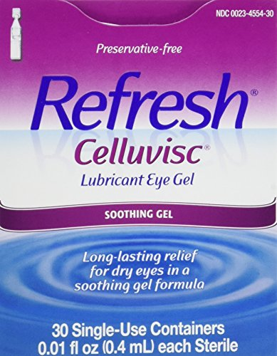 - Refresh Celluvisc Lubricant Eye Gel Single-use Containers 30 Ea (3 Pack)