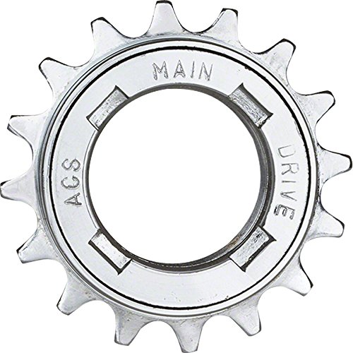 - ACS Main Drive Single Speed Freewheel (17T x 1/8-Inch)
