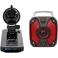 ESCORT IX Laser Radar Police Cop Camera Detector w/Bluetooth,GPS, USB + Speaker