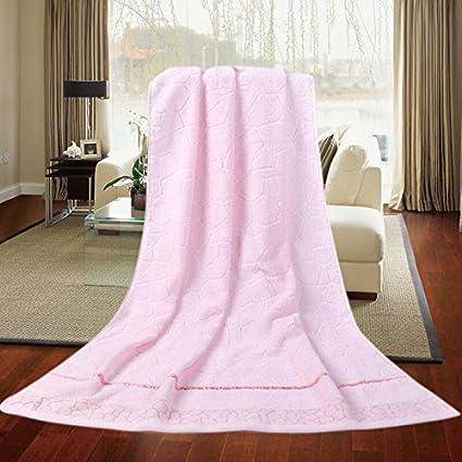 Aumentar el espesor suave absorbente toalla de baño toallas de baño de algodón, toallas de