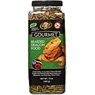Zoo Med 5118 Gourmet Bearded Dragon Food, 15 oz