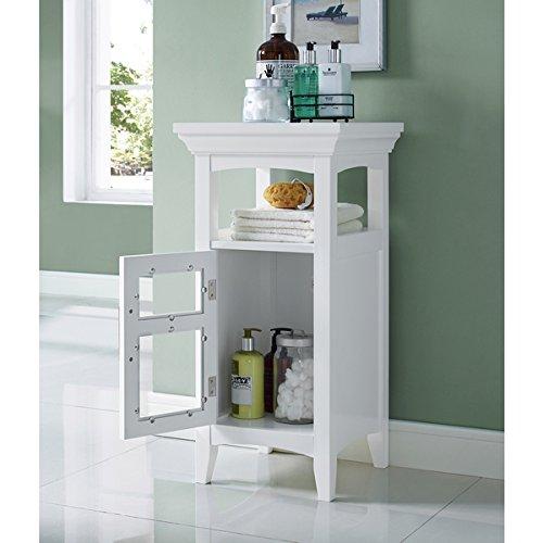 WYNDENHALL Hayes Floor Storage Cabinet in White by Wynden Hall