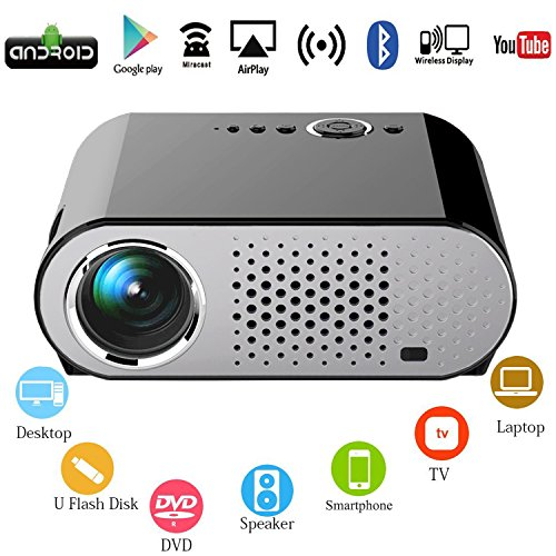 Vox Android WiFi Internet Video Projector,OAKLETREA 3200 ...