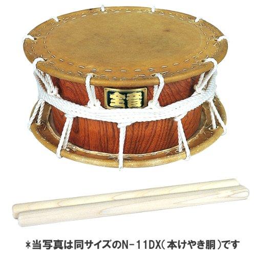 全音 和太鼓並附締太鼓N-11(合板による木製胴)   B00BAPEFR8