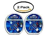 PACK OF 2 - Abreva FDA-Approved Cold Sore Treatment, Docosanol 10% Cream, Pump, 0.07 oz