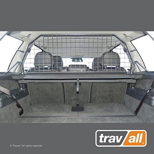 Travall Guard Compatible with Volvo XC90 2002-2014 TDG1193 – Rattle-Free Steel Vehicle Specific Pet Barrier