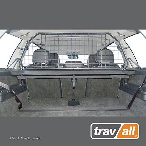 Travall Guard Compatible with Volvo XC90 (2002-2014) TDG1193 - Rattle-Free Steel Pet Barrier ()