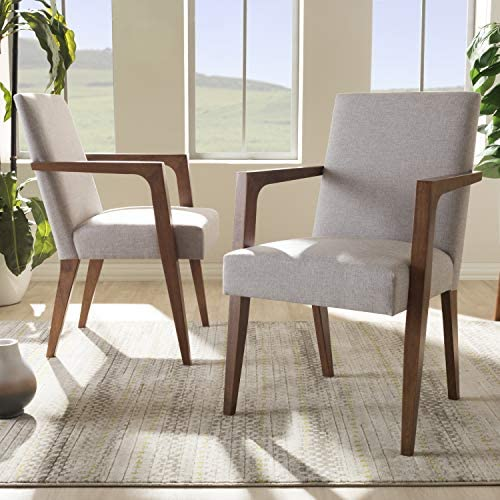 Baxton Studio Andrea Upholstered Arm Chair Review