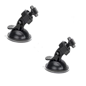 "Dash Cam Suction Cup Mount for Yi Dash Cam 2.7"" Screen Full Hd 1080p 165 Wide Angle Dashboard Camera, Yi Dashcam Mounts Hold Tightly and Stand Heat Well, 2 Pieces"