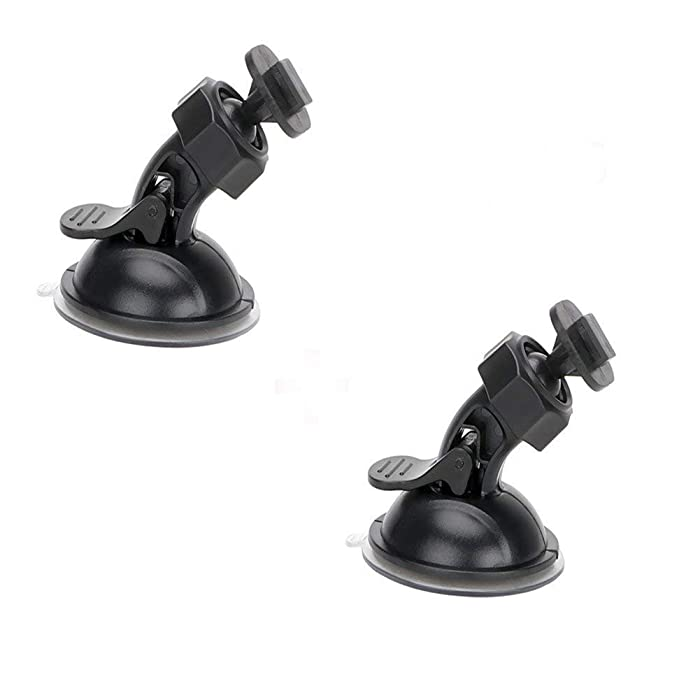 """Dash Cam Suction Cup Mount for Yi Dash Cam 2.7"""" Screen Full Hd 1080p 165 Wide Angle Dashboard Camera, Yi Dashcam Mounts Hold Tightly and Stand Heat Well, 2 Pieces"""