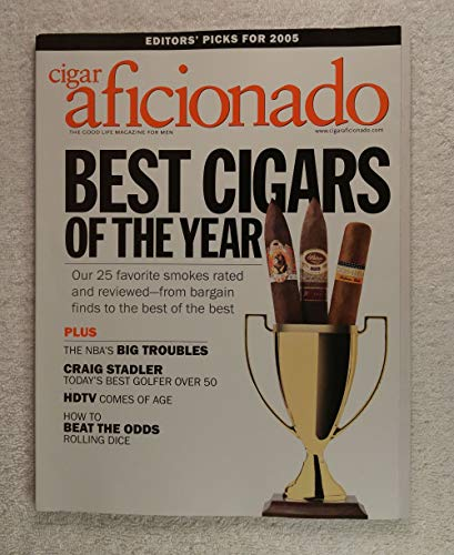 Best Cigars of the Year - Cigar Aficionado Magazine - January/February 2005 - Craig Stadler, How to Beat the Odds Rolling Dice articles