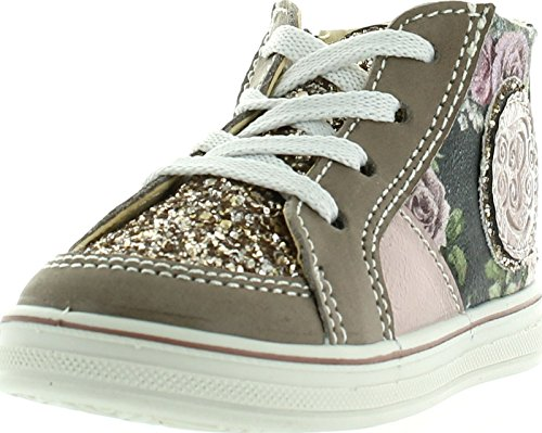 Girls Primigi Gray Sneaker Casual Pink Fashion Booties Robby zqdwq4U