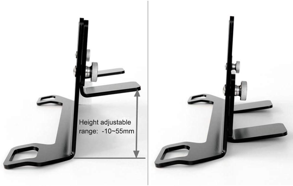 Sicherheitssitz Halterung Kecheer Autosicherheitssitzhalterung Universal-Stahlriegel f/ür ISOFIX-Gurtverbindungsgurthalterung
