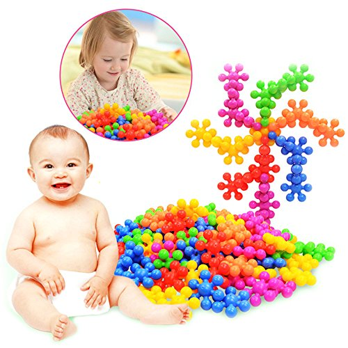 n Multicolor Plum Blossom Creative Building Blocks For Child DIY Educational Toys For Jouet Infant£¬Birthday Gifts For 2-15 Years Toddlers ()