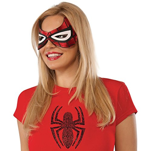 GSG Spider-Girl Eyemask Costume Mask Adult Womens Spider-Girl