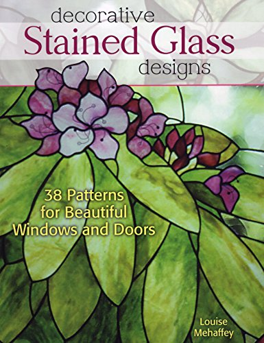 Designed Stained Glass - Decorative Stained Glass Designs: 38 Patterns for Beautiful Windows and Doors