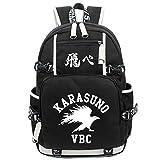 Gumstyle Haikyuu Luminous Backpack Anime Book Bag Casual School Bag