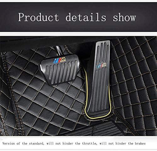 2011-2018 rutschfeste Abnutzung Bodenmatten-Leder Material Automatten Teppiche Fu/ßmatten f/ür J eep Grand Cherokee 2007-2010 Beige