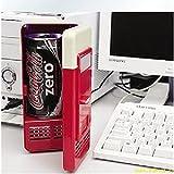 KAKA(TM) Portable Mini USB Car Refrigerator Fridge Beverage Drink Cans Food Cooler