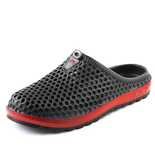 à 162 Waterweight FZDX Sandales Shoes Rapide Chaussures Pantoufles Summer Water Unisexes Garden Séchage Black 8TOrqInOd