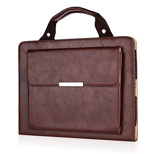 """Price comparison product image Jennyfly 2019 iPad Air 3 10.5"""" Case,  Hands-Free Stand Handbag Cover Full Body Protective Business Case Corner Protection Smart Cover with Auto Sleep / Wake Feature for 2019 iPad Air 3 10.5 inch - Brown"""