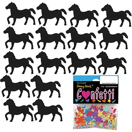 Confetti Horse Black - 2 Half Oz Pouches (1 oz) FREE SHIPPING --- - Jimmy Black Bag