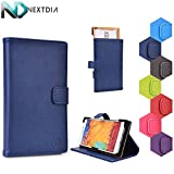 Bliss S5 Stand Case with Quick Camera Access | Space Cake Blue + NEXTDIA Cable Organizer