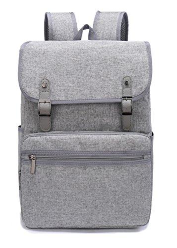 Weekend Shopper Vintage Backpack College Bookbag Business Travel Laptop Backpack for Women and men fit 15.6 inch Laptop