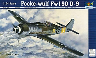 Trumpeter 1/24 Focke Wulf Fw190D9 Aircraft Model Kit