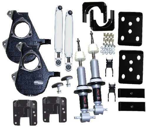 McGaughys 3/5 or 4/6 Adjustable Lowering Kit 2014 Chevy GM 1500 Truck 2WD All Cabs 34170