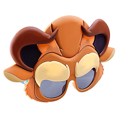 Sun-Staches Costume Sunglasses The Beast Party Favors UV400 ()