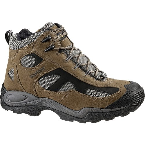 cab20310610 Wolverine Men's W02072 Athletic Mid Boot,Sand,9.5 M US - Import It All