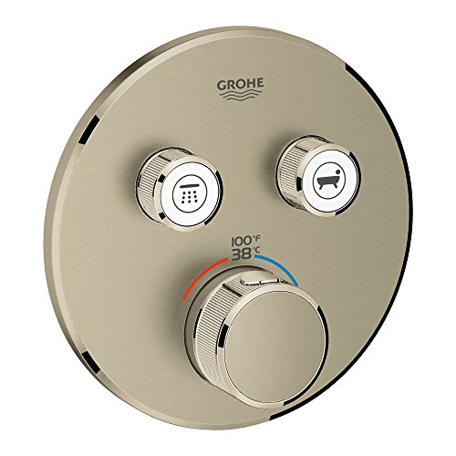 GROHE 29137EN0 29137 Round US Brushed Nickel Thm Smartcontrol 2 by GROHE
