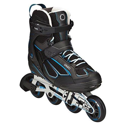 Hombre 42 Oxelo Fit 5 patines en línea para adultos (Azul ...