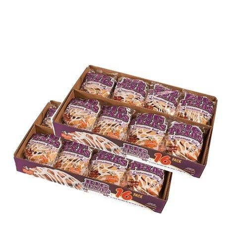 Cloverhill Big Texas Cinnamon Rolls, 4 oz (Pack of 32) Cinnamon Sweet Rolls