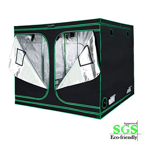 Quictent SGS Approved Eco-Friendly 96'x96'x78' Reflective Mylar Hydroponic Grow Tent with...