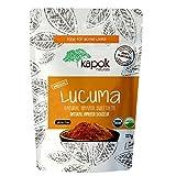 organic maple extract - Kapok Naturals Raw Lucuma Powder. Stone Ground USDA Organic Lucuma Fruit from Peru. Natural Sweeter Lacuma for Baking, Smoothies, Favorite Desserts Enjoy! Premium USDA Organic, ISO & GMP Certified