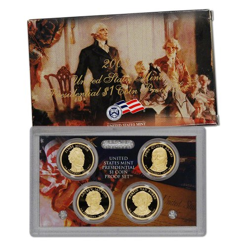 2008 US Mint Presidential Coin Proof Set